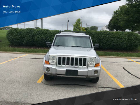 2006 Jeep Commander for sale at Auto Nova in Saint Louis MO