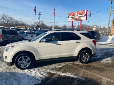 2015 Chevrolet Equinox for sale at Christy Motors in Crystal MN