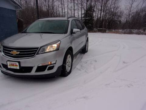 2014 Chevrolet Traverse for sale at Warga Auto and Truck Center in Phillips WI