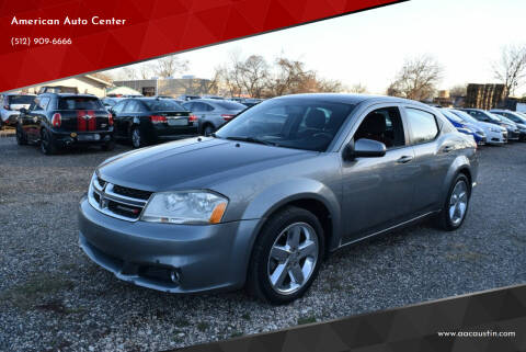 2012 Dodge Avenger for sale at American Auto Center in Austin TX