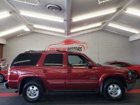 2002 Chevrolet Tahoe for sale at Premium Motors in Villa Park IL