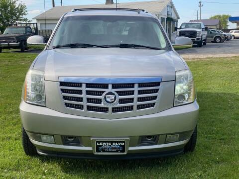 2007 Cadillac Escalade EXT for sale at Lewis Blvd Auto Sales in Sioux City IA