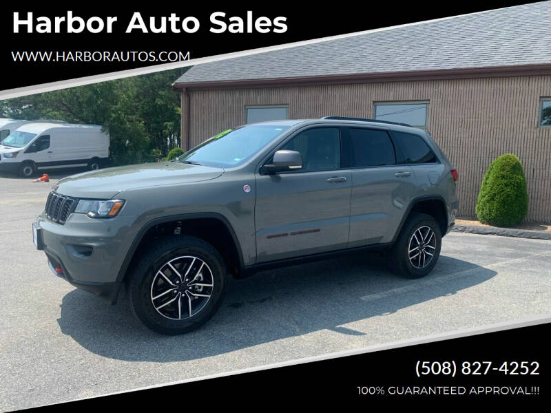 2021 Jeep Grand Cherokee for sale at Harbor Auto Sales in Hyannis MA