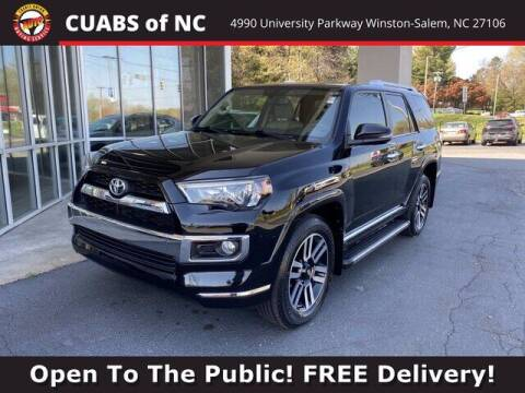 2018 Toyota 4Runner for sale at Credit Union Auto Buying Service in Winston Salem NC