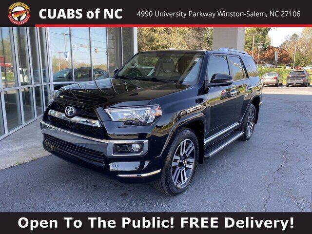 2018 Toyota 4Runner for sale at Summit Credit Union Auto Buying Service in Winston Salem NC