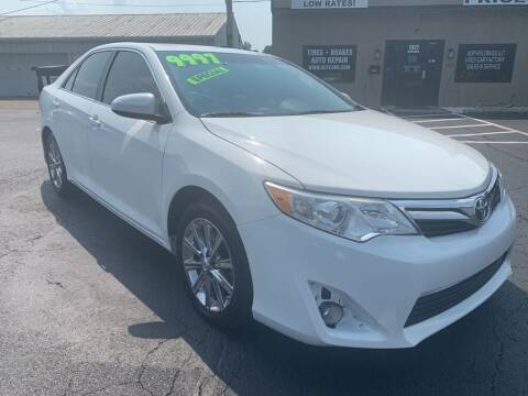 2012 Toyota Camry for sale at Used Car Factory Sales & Service Troy in Troy OH