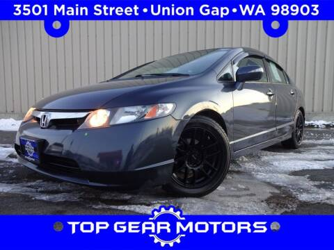 2008 Honda Civic for sale at Top Gear Motors in Union Gap WA