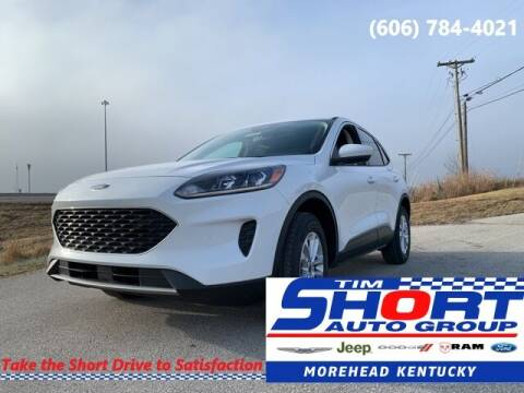 2021 Ford Escape for sale at Tim Short Chrysler in Morehead KY