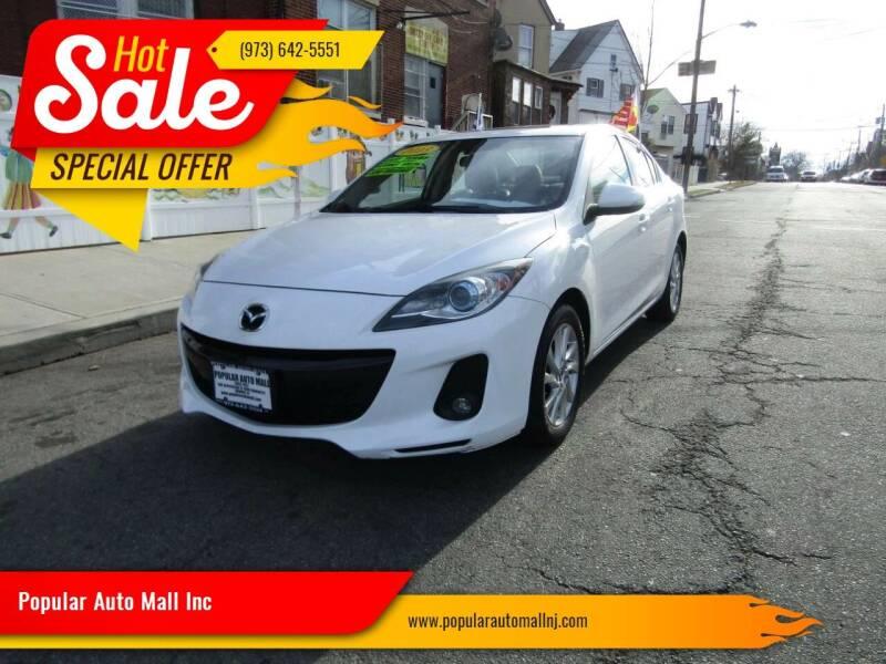 2013 Mazda MAZDA3 for sale at Popular Auto Mall Inc in Newark NJ