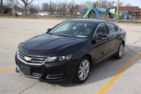 2017 Chevrolet Impala for sale at A-Auto Luxury Motorsports in Milwaukee WI