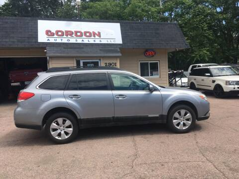 2011 Subaru Outback for sale at Gordon Auto Sales LLC in Sioux City IA