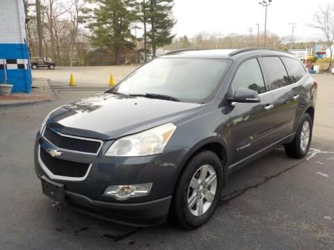 2009 Chevrolet Traverse for sale at RTE 123 Village Auto Sales Inc. in Attleboro MA