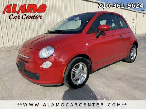 2012 FIAT 500 for sale at Alamo Car Center in San Antonio TX
