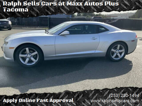 2014 Chevrolet Camaro for sale at Ralph Sells Cars at Maxx Autos Plus Tacoma in Tacoma WA