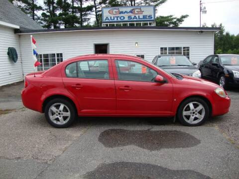 2009 Chevrolet Cobalt for sale at G and G AUTO SALES in Merrill WI