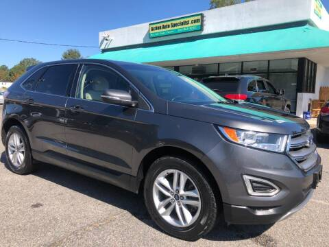 2017 Ford Edge for sale at Action Auto Specialist in Norfolk VA