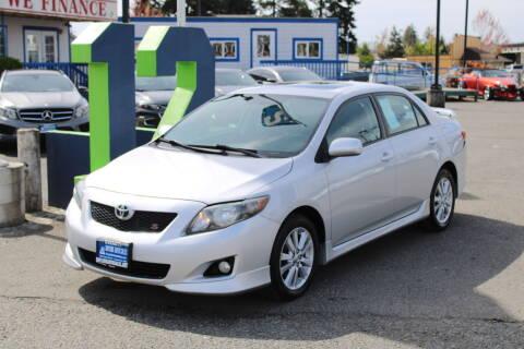 2010 Toyota Corolla for sale at BAYSIDE AUTO SALES in Everett WA