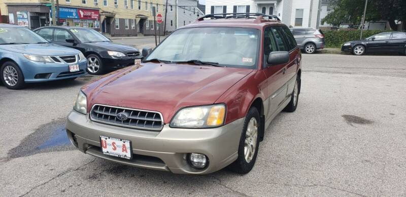 2004 Subaru Outback for sale at Union Street Auto in Manchester NH