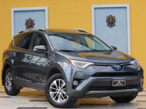 2018 Toyota RAV4 Hybrid for sale at Paradise Motor Sports LLC in Lexington KY