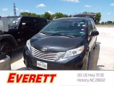 2016 Toyota Sienna for sale at Everett Chevrolet Buick GMC in Hickory NC