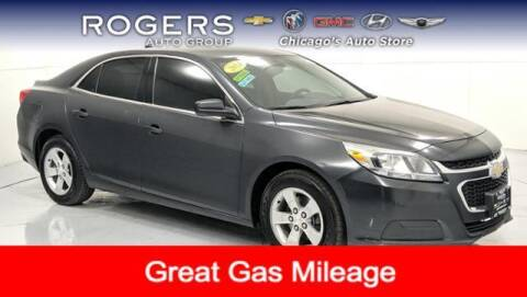 2014 Chevrolet Malibu for sale at ROGERS  AUTO  GROUP in Chicago IL