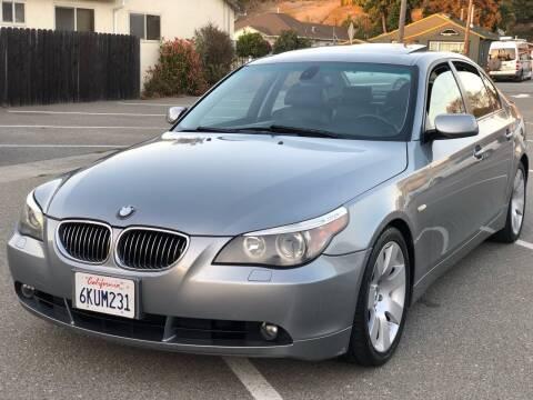 2007 BMW 5 Series for sale at JENIN MOTORS in Hayward CA