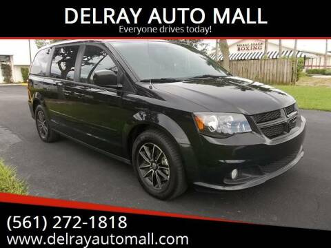 2017 Dodge Grand Caravan for sale at DELRAY AUTO MALL in Delray Beach FL