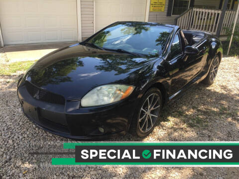 2012 Mitsubishi Eclipse Spyder for sale at Budget Auto Sales in Bonne Terre MO