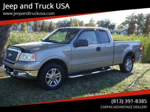 2005 Ford F-150 for sale at Jeep and Truck USA in Tampa FL