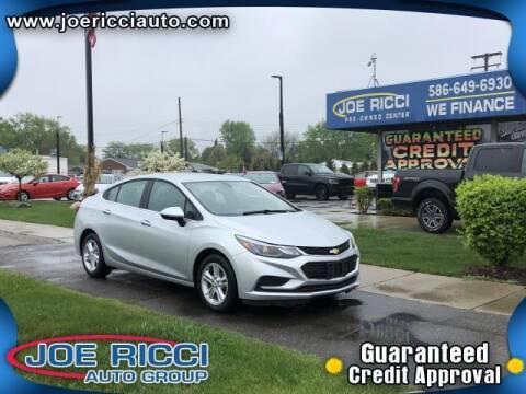 2018 Chevrolet Cruze for sale at JOE RICCI AUTOMOTIVE in Clinton Township MI