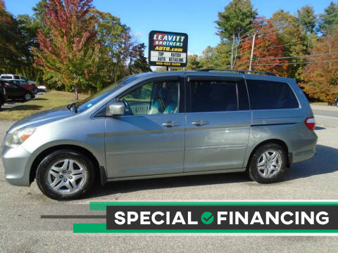 2007 Honda Odyssey for sale at Leavitt Brothers Auto in Hooksett NH
