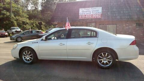 2008 Buick Lucerne for sale at Kenny's Korner in Hartland MI
