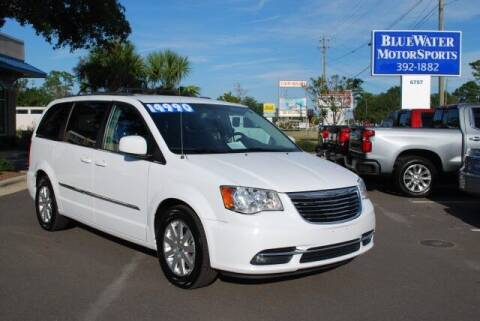 2016 Chrysler Town and Country for sale at BlueWater MotorSports in Wilmington NC