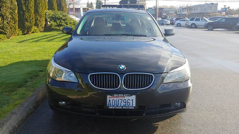 2007 BMW 5 Series for sale at AUTOTRACK INC in Mount Vernon WA