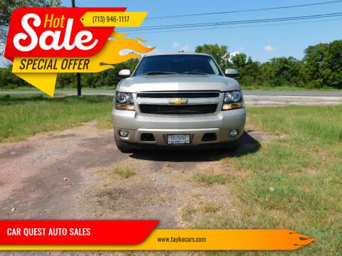 2007 Chevrolet Tahoe for sale at CAR QUEST AUTO SALES in Houston TX
