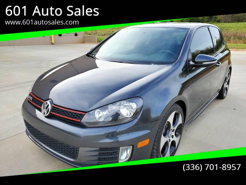 2011 Volkswagen GTI for sale at 601 Auto Sales in Mocksville NC