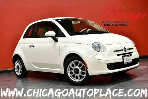 2012 FIAT 500 for sale at Chicago Auto Place in Bensenville IL