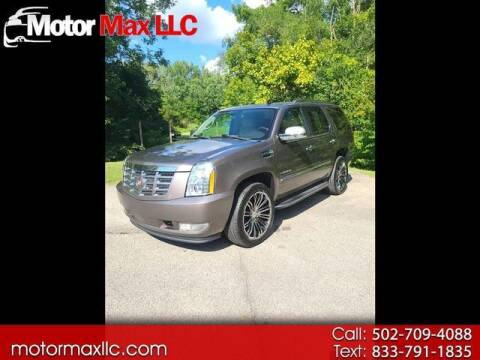 2013 Cadillac Escalade for sale at Motor Max Llc in Louisville KY