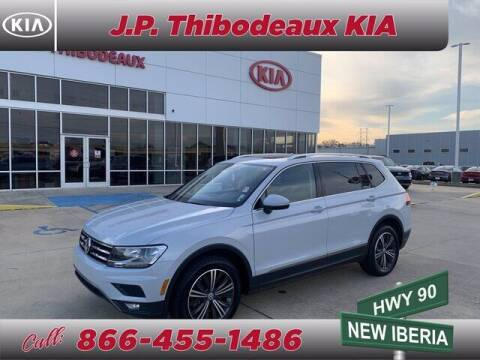 2018 Volkswagen Tiguan for sale at J P Thibodeaux Used Cars in New Iberia LA