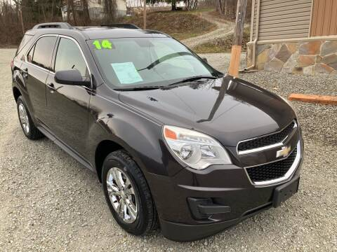 2014 Chevrolet Equinox for sale at Watts Auto Sales in New Alexandria PA