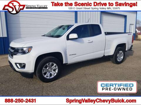 2018 Chevrolet Colorado for sale at Spring Valley Chevrolet Buick in Spring Valley MN