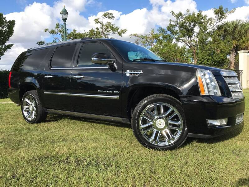 2012 Cadillac Escalade ESV for sale at Kaler Auto Sales in Wilton Manors FL