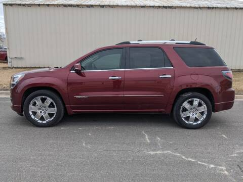 2016 GMC Acadia for sale at TNK Autos in Inman KS