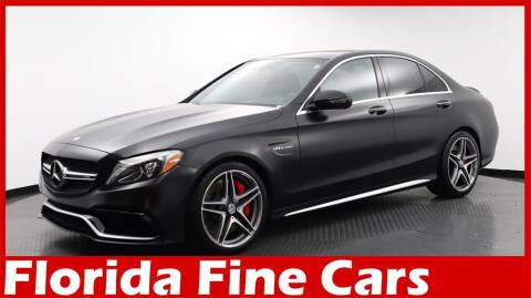 2016 Mercedes-Benz C-Class for sale at Florida Fine Cars - West Palm Beach in West Palm Beach FL