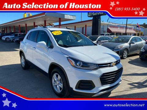 2020 Chevrolet Trax for sale at Auto Selection of Houston in Houston TX