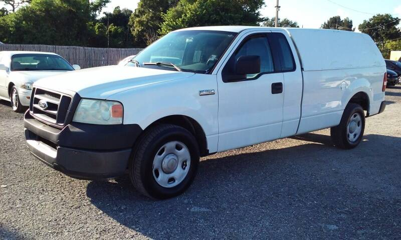 2005 Ford F-150 for sale at Pinellas Auto Brokers in Saint Petersburg FL