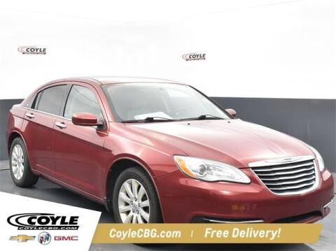 2011 Chrysler 200 for sale at COYLE GM - COYLE NISSAN - New Inventory in Clarksville IN