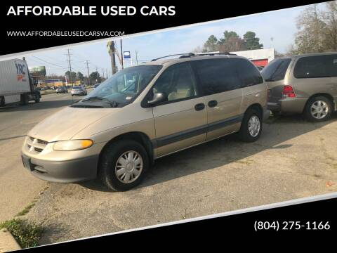 1998 Dodge Caravan for sale at AFFORDABLE USED CARS in Richmond VA
