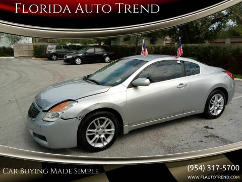 2009 Nissan Altima for sale at Florida Auto Trend in Plantation FL