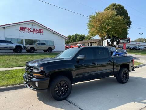 2017 Chevrolet Silverado 1500 for sale at Efkamp Auto Sales LLC in Des Moines IA